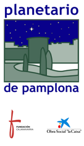 Logotipo Planetario de Pamplona