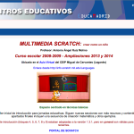 Aula Virtual sobre Scratch de Antonio Ruiz