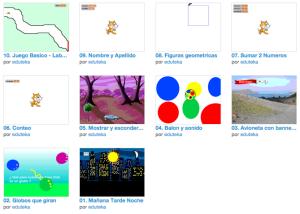 Captura de 10 retos matemáticos para niños a realizar con Scratch