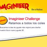 Logo Imaginnier: concurso de diseño de jueguetes en 3D