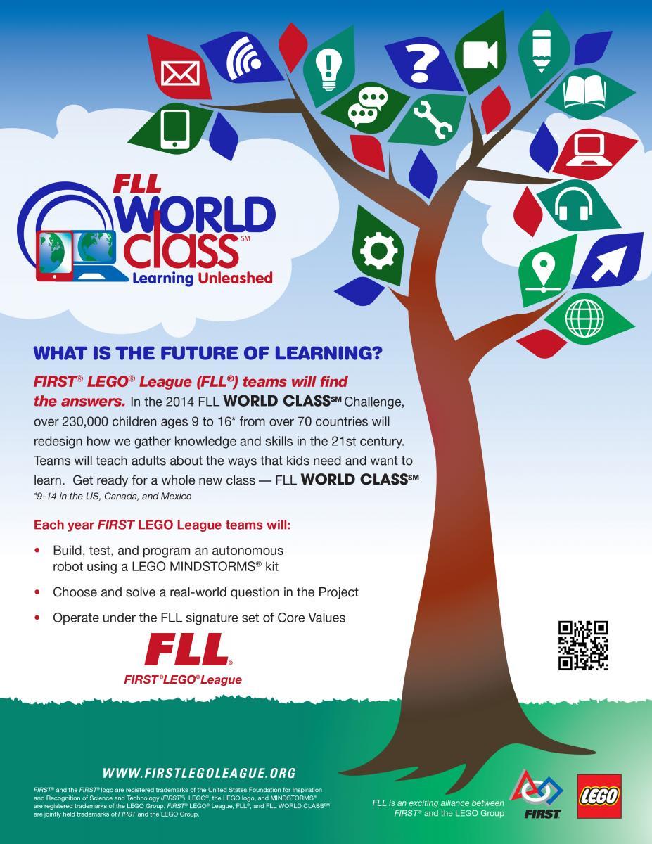 Póster del desafío de este año es desarrollar un proyecto sobre la educación del futuro