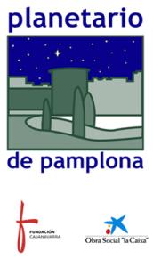 Logotipo del Planetario de Pamplona