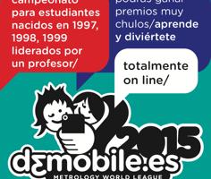 d3mobile.es Metrology World League, campeonato internacional de modelado 3D con tu móvil