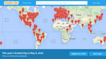 Los institutos de Mendillorri y Cortes celebran el Scratch Day en mayo y junio