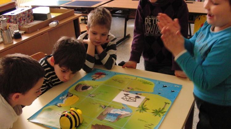 Actividad con Bee-bots