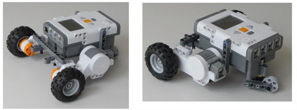 Montaje robot Lego NXT - Resultado final