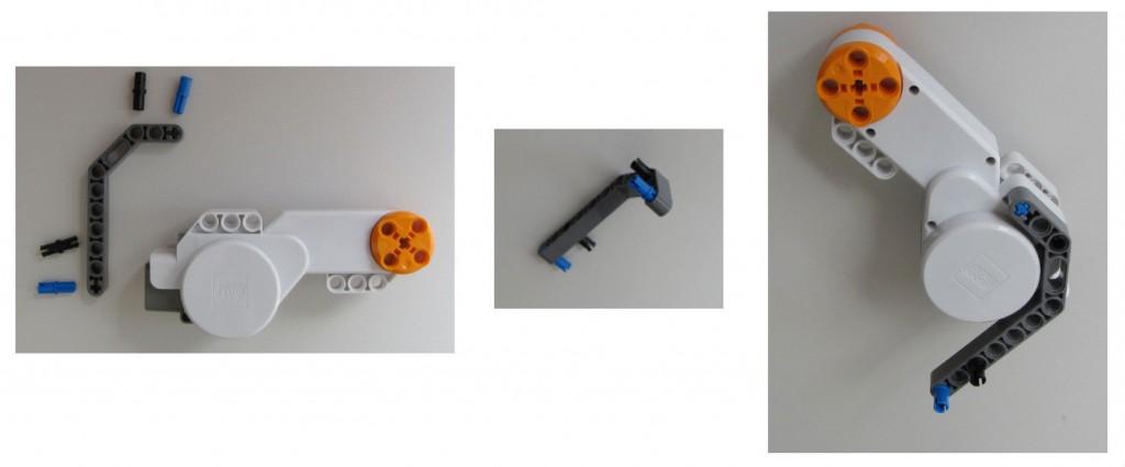 Montaje robot Lego NXT - Paso 1