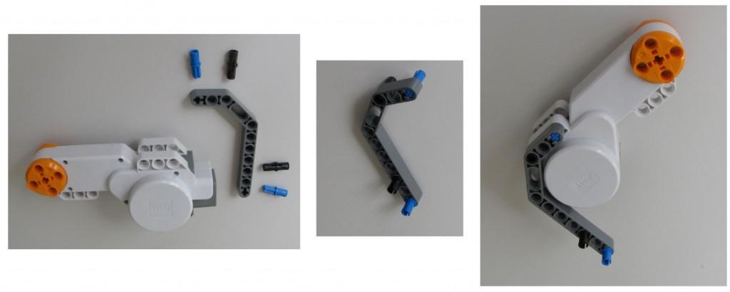 Montaje robot Lego NXT - Paso 2