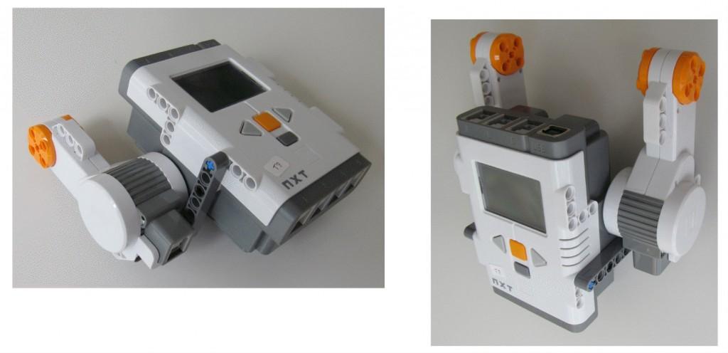 Montaje robot Lego NXT - Paso 3
