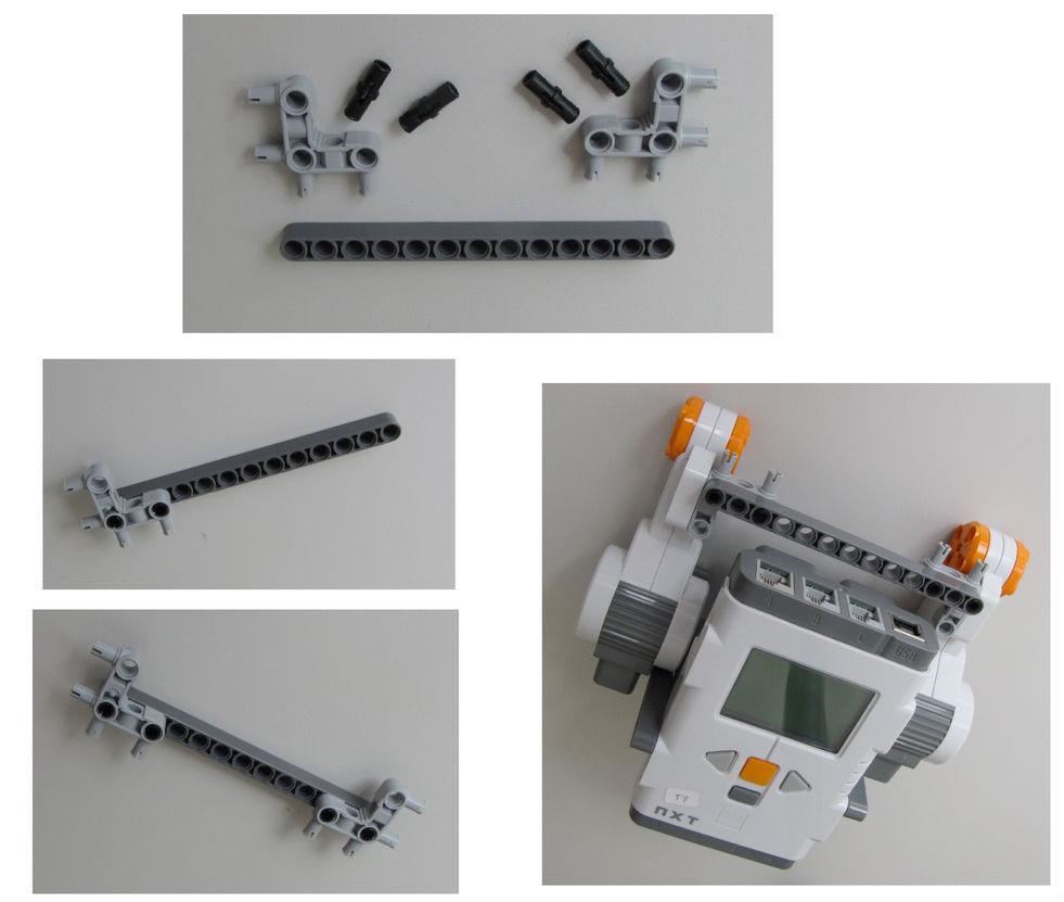 Montaje robot Lego NXT - Paso 4