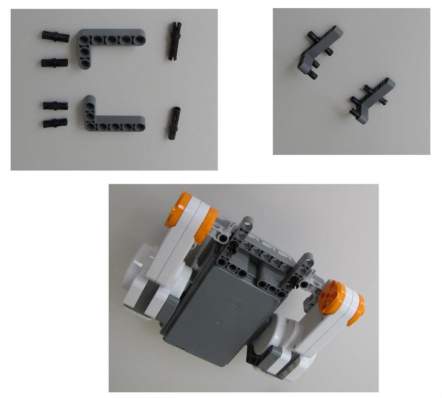 Montaje robot Lego NXT - Paso 5