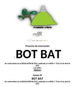 Proyecto de innovación - Bot Bat