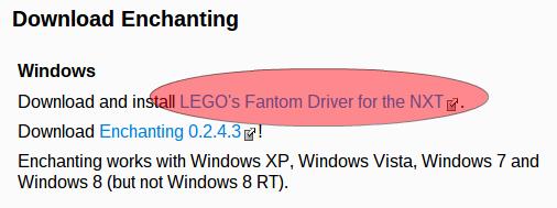 Driver Fantom para Enchanting