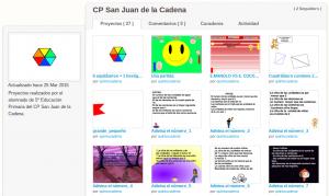 Estudio de Scratch en el CPEIP San Juan de la Cadena