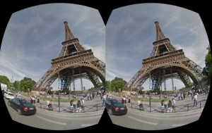 Google Street View con las Google Cardboard.