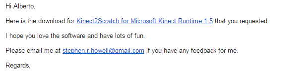 Kinect y Scratch 1 4