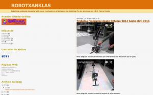 Robotxanklas - IES Tierra Estella
