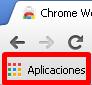 Marcador Aplicaciones en Chrome