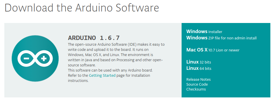 Software de Arduino