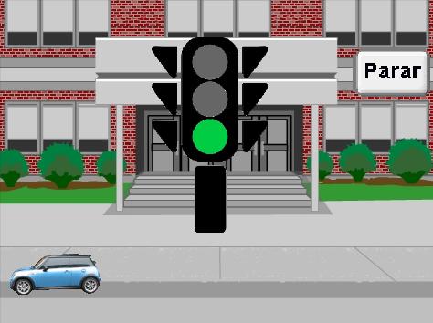 Escenario del ejemplo del Semáforo