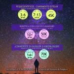 Talleres científico-tecnológicos durante la Semana de Pascua