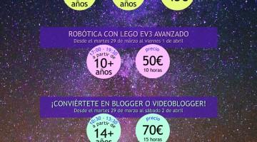 Talleres científico-tecnológicos durante la Semana de Pascua en el Planetario de Pamplona