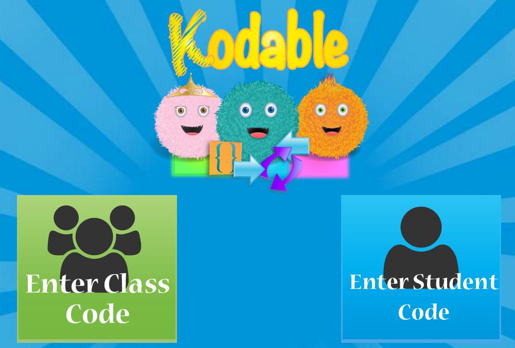 Acceso al espacio de alumnos de Kodable