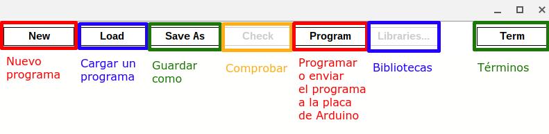 Opciones de ChromeDuino