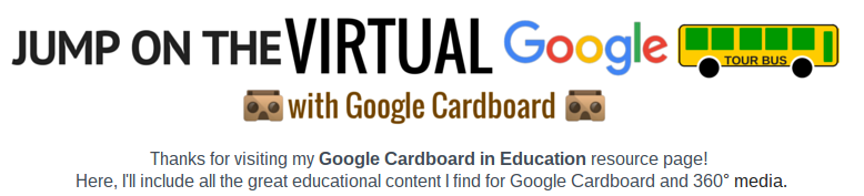 Google Cardboard in Education