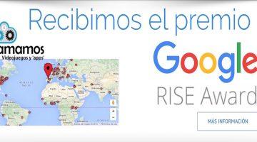 Los premios Google Rise Awards 2016 reconocen el trabajo de Programamos, entidad colaboradora de Código 21