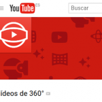 Vídeos de 360º de YouTube