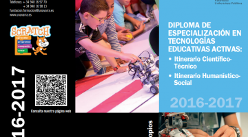 UPNA 2016-2017: Diploma de Especialización en Tecnologías Educativas Activas