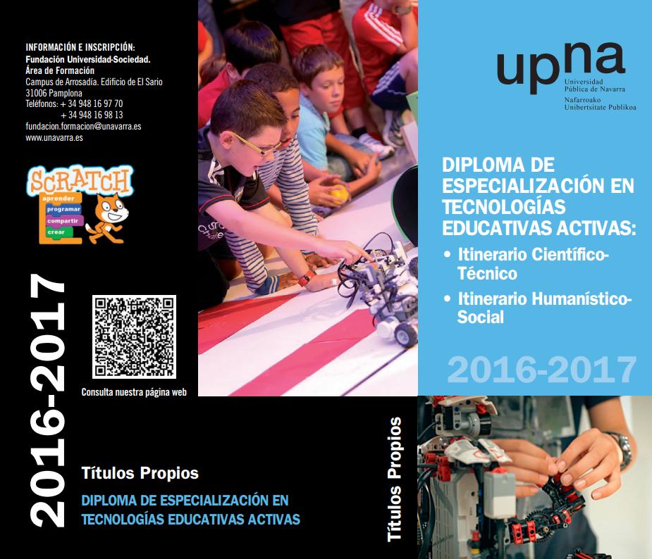 Diploma de Especialización en Tecnologías Educativas Activas