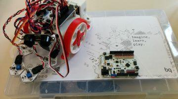 Trabajo integral en robótica con BQ PrintBot Evolution: estudio de sus componentes, impresión en 3D de piezas, montaje y programación