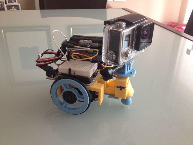 GoproBOT Arduino Printbot by JavierP56