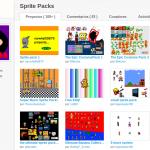 """Estudio """"Sprite Packs"""" con miles de objetos"""