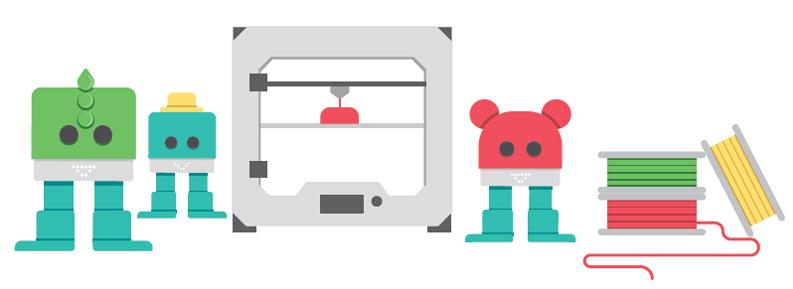 Personaliza Zowi con impresión 3D