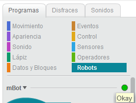 Robot conectado