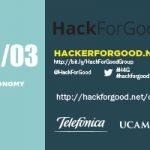 Cartel anunciador HackForGood