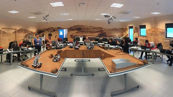 Taller robótica educativa en el ESA