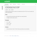 Edabit – aprende a programar