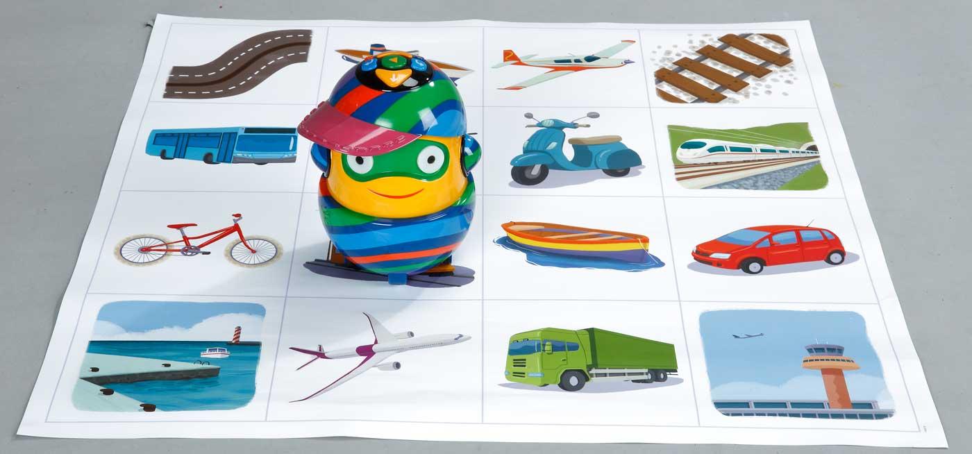 Material programación y robótica para educación infantil